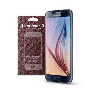 【Galaxy S6】 Luminous-O (ルミナスオー)指紋防止液晶保護フィルム Z6359GS6 クリア