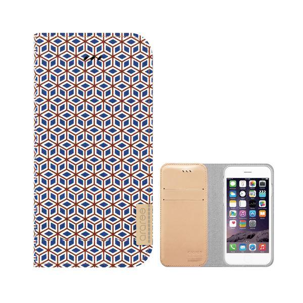 iPhone6s/6 ケース araree Blossom Diary(ブロッサムダイアリー インディ) アイフォン(cube)f00