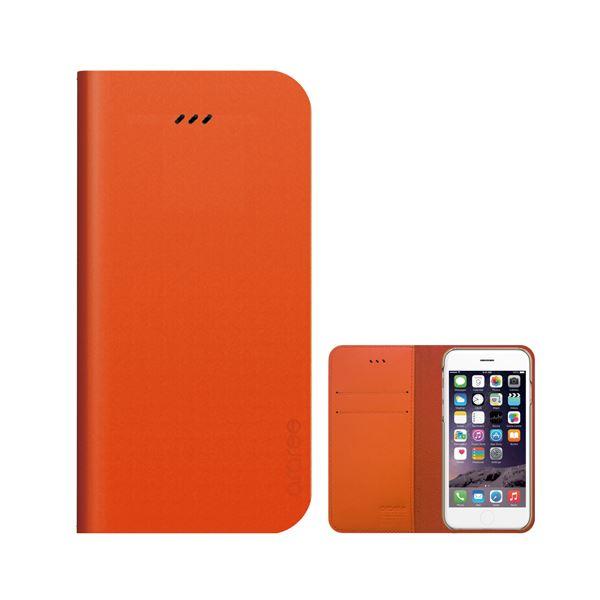 iPhone6s/6 ケース araree Thumb-up Diary Original(サムアップダイアリーオリジナル) アイフォン(Original orange)f00