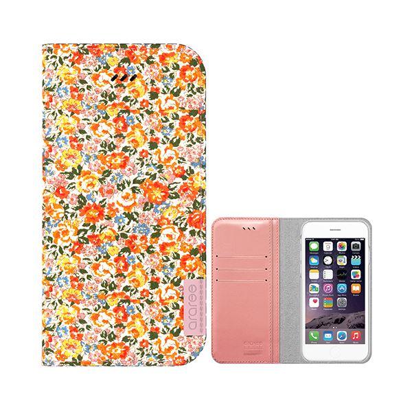 iPhone6s Plus/6 Plus ケース araree Blossom Diary (ブロッサムダイアリー インディー) アイフォン(bloom)f00
