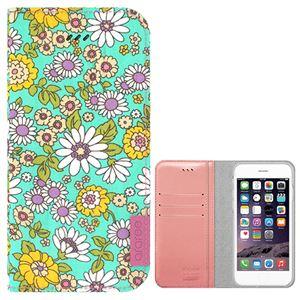 iPhone6s Plus/6 Plus ケース araree Blossom Diary (ブロッサムダイアリー インディー) アイフォン(mint) h01