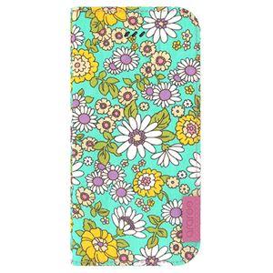 iPhone6s Plus/6 Plus ケース araree Blossom Diary (ブロッサムダイアリー インディー) アイフォン(mint) h02
