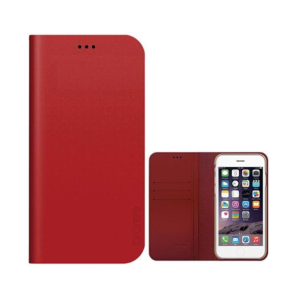 iPhone6s Plus/6 Plus ケース araree Thumb-up Diary Original (サムアップダイアリーオリジナル) アイフォン(Original red)f00