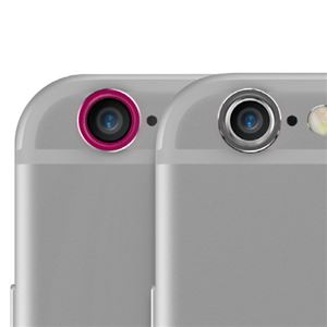 iPhone6s/6 araree Metal Ring SET(アラリー メタルリング セット)2色セット アイフォン(Space Gray&Pink) h01