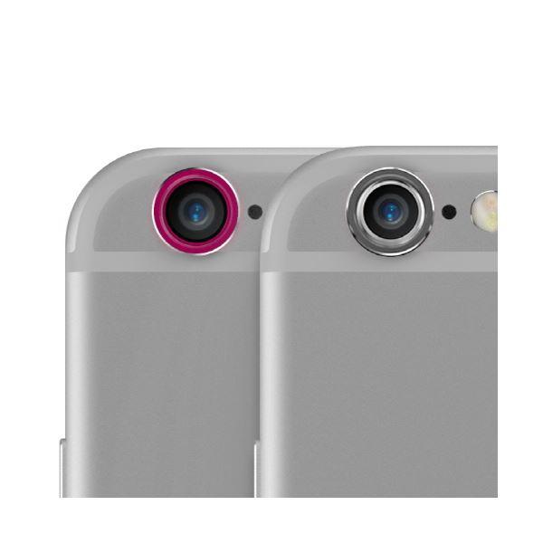 iPhone6s/6 araree Metal Ring SET(アラリー メタルリング セット)2色セット アイフォン(Space Gray&Pink)f00