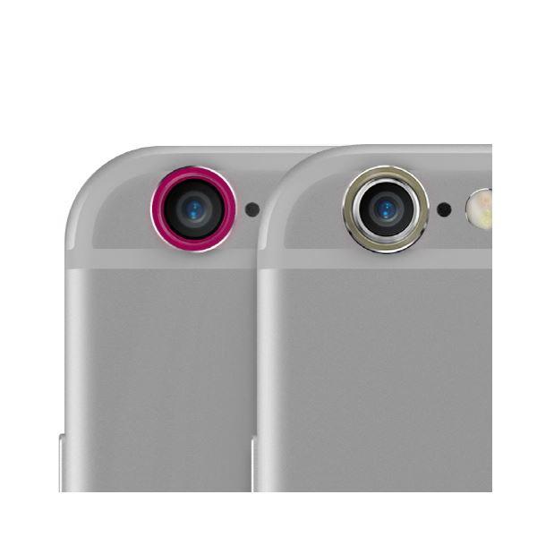 iPhone6s Plus/6 Plus Plusararee Metal Ring SET(アラリー メタルリング セット)2色セット アイフォン(Gold&Pink)f00
