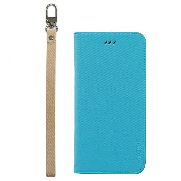 iPhone6s/6 ケース araree Canvas Diary(アラリー キャンバスダイアリー) アイフォン(Blue)f00
