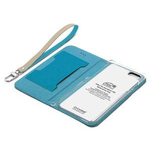 iPhone6s/6 ケース araree Canvas Diary(アラリー キャンバスダイアリー) アイフォン(Blue) h02