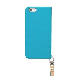 iPhone6s/6 ケース araree Canvas Diary(アラリー キャンバスダイアリー) アイフォン(Blue) h03