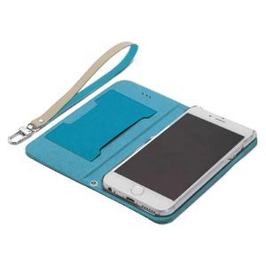 iPhone6s/6 ケース araree Canvas Diary(アラリー キャンバスダイアリー) アイフォン(Blue) f04