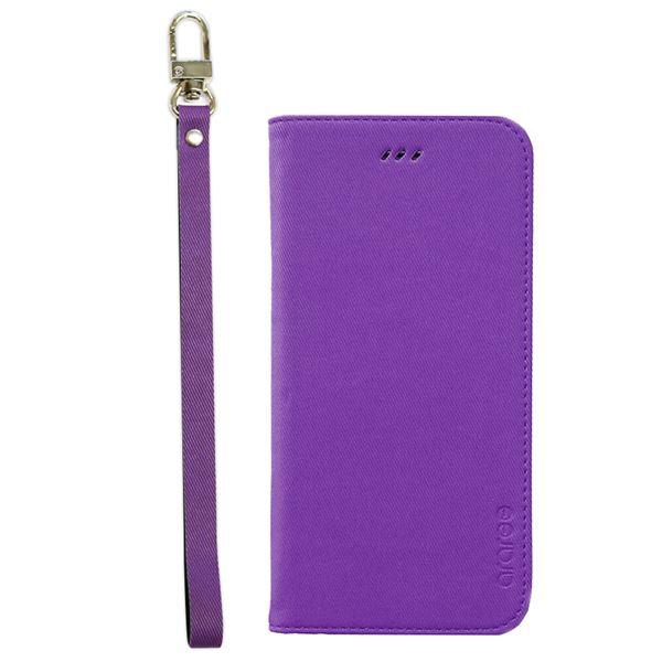 iPhone6s/6 ケース araree Canvas Diary(アラリー キャンバスダイアリー) アイフォン(Purple)f00