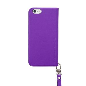 iPhone6s/6 ケース araree Canvas Diary(アラリー キャンバスダイアリー) アイフォン(Purple) h02