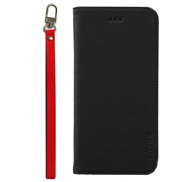 iPhone6s Plus/6 Plus ケースararee Canvas Diary(アラリー キャンバスダイアリー)アイフォン(Black)f00