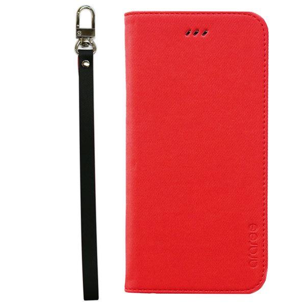iPhone6s Plus/6 Plus ケースararee Canvas Diary(アラリー キャンバスダイアリー)アイフォン(Red)f00