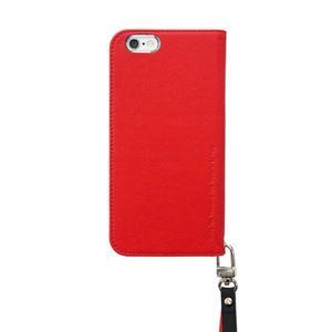 iPhone6s Plus/6 Plus ケースararee Canvas Diary(アラリー キャンバスダイアリー)アイフォン(Red) h02