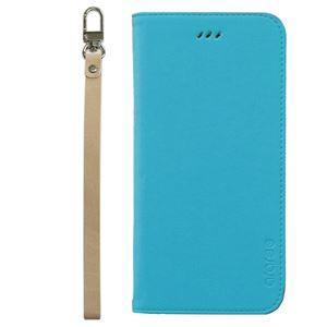 iPhone6s Plus/6 Plus ケースararee Canvas Diary(アラリー キャンバスダイアリー)アイフォン(Blue) h01
