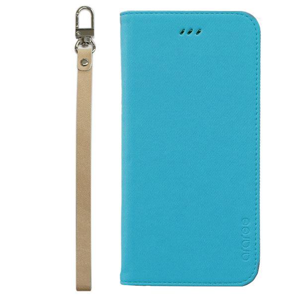 iPhone6s Plus/6 Plus ケースararee Canvas Diary(アラリー キャンバスダイアリー)アイフォン(Blue)f00