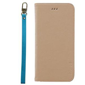 iPhone6s Plus/6 Plus ケースararee Canvas Diary(アラリー キャンバスダイアリー)アイフォン(Beige) h01