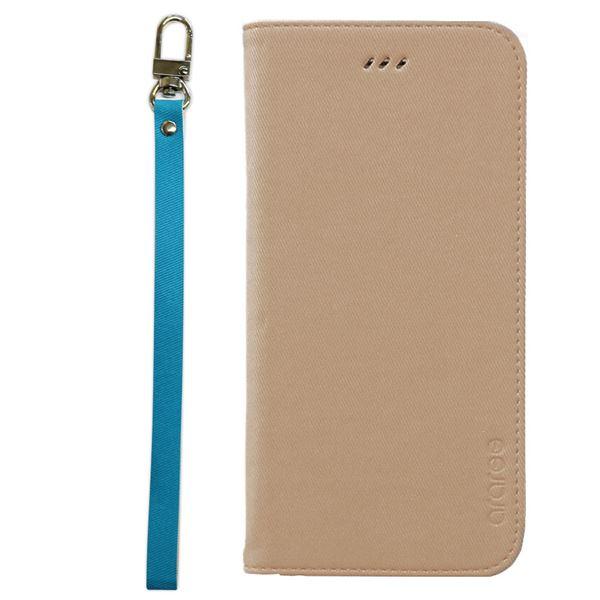 iPhone6s Plus/6 Plus ケースararee Canvas Diary(アラリー キャンバスダイアリー)アイフォン(Beige)f00