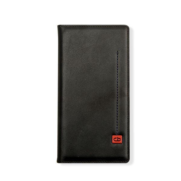 Xperia Z4 ケース Chabel Chroma Diary(チャベル クロマダイアリー) エクスペリア(Black)f00
