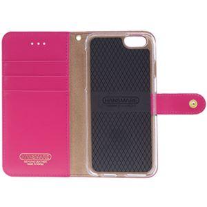 iPhone6s/6 ケース HANSMARE ANACONDA Diary(ハンスマレ アナコンダダイアリー)アイフォン(Amazon Pink) h02
