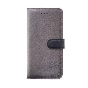 iPhone6s/6 ケース HANSMARE CALF Diary(ハンスマレ カーフダイアリー)アイフォン(Metal Black) h01