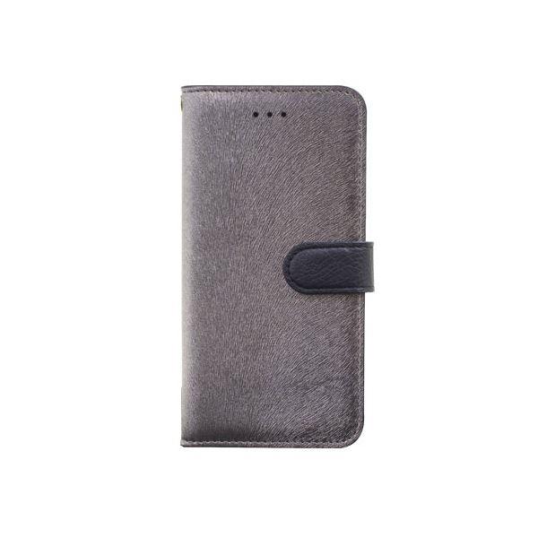 iPhone6s/6 ケース HANSMARE CALF Diary(ハンスマレ カーフダイアリー)アイフォン(Metal Black)f00