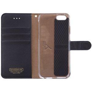 iPhone6s/6 ケース HANSMARE CALF Diary(ハンスマレ カーフダイアリー)アイフォン(Metal Black) h02