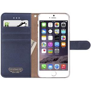iPhone6s/6 ケース HANSMARE CALF Diary(ハンスマレ カーフダイアリー)アイフォン(Navy Blue) h02