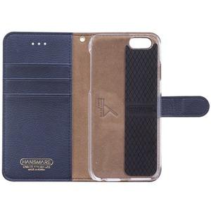iPhone6s/6 ケース HANSMARE CALF Diary(ハンスマレ カーフダイアリー)アイフォン(Navy Blue) h03