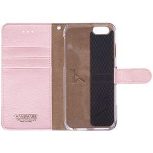 iPhone6s/6 ケース HANSMARE CALF Diary(ハンスマレ カーフダイアリー)アイフォン(Wine Pink) h02