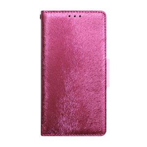 多機種対応スマートフォンマルチケース HANSMARE CALF Diary(ハンスマレ カーフダイアリー)(Wine Pink) h01