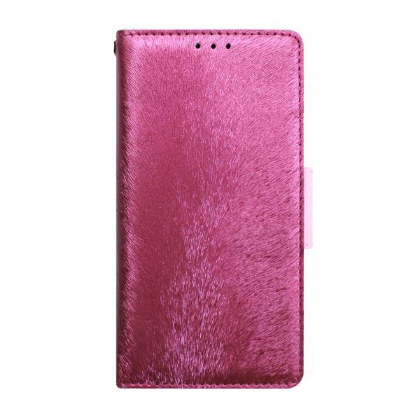 多機種対応スマートフォンマルチケース HANSMARE CALF Diary(ハンスマレ カーフダイアリー)(Wine Pink)f00