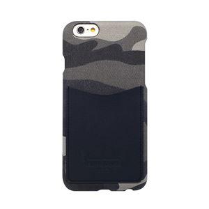 iPhone6s/6 ケース HANSMARE Leather Pocket Bar(ハンスマレ レザーポケットバー)アイフォン カバー(Bar camoufla navy) h01