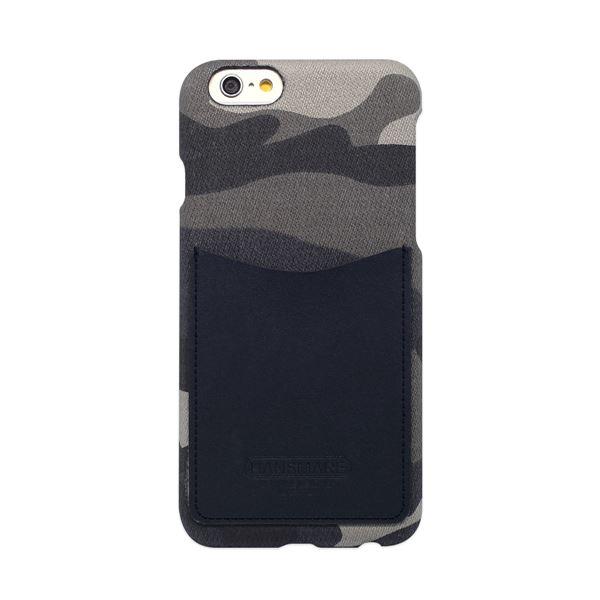 iPhone6s/6 ケース HANSMARE Leather Pocket Bar(ハンスマレ レザーポケットバー)アイフォン カバー(Bar camoufla navy)f00
