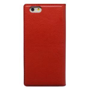 iPhone6s/6 ケース 手帳型 HANSMARE Standing Diary(ハンスマレ スタンディングダイアリー)アイフォン 2段階スタンド(red) h01