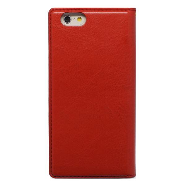 iPhone6s/6 ケース 手帳型 HANSMARE Standing Diary(ハンスマレ スタンディングダイアリー)アイフォン 2段階スタンド(red)f00