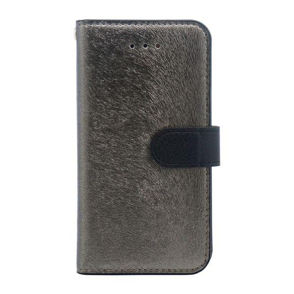 iPhone SE ケース HANSMARE CALF Diary (ハンスマレ カーフダイアリー) アイフォンse/5s/5用 iPhone SE/5s/5(metal black)f00