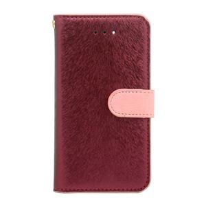 iPhone SE ケース HANSMARE CALF Diary (ハンスマレ カーフダイアリー) アイフォンse/5s/5用 iPhone SE/5s/5(wine pink)