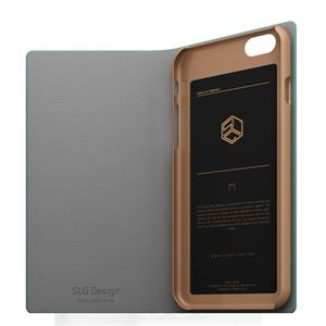 iPhone6s/6 ケース SLG Design D0 Combi Calf Skin Artificial Leather Diary(エスエルジ―デザイン D0 コンビ カーフスキンアーティフィシャルレザーダイアリー)アイフォン( rime) h03