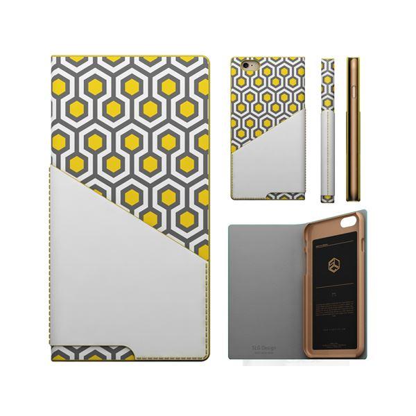 iPhone6s/6 ケース SLG Design D0 Combi Calf Skin Artificial Leather Diary(エスエルジ―デザイン D0 コンビ カーフスキンアーティフィシャルレザーダイアリー)アイフォン( yellow)f00
