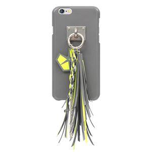 iPhone6s ケース STI:L PEACOCK WALTZ Bar(スティール ピーコックワルツバー)アイフォン iPhone6(Bar gray) h01
