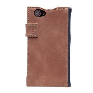 docomo 【Xperia A2/Xperia Z1f】ZENUS Denim Vintage Pocket Diary(デニムビンテージポケットダイアリー) スナップボタン デニム、イタリアン本革(Vintage Pocket) h02