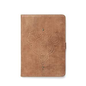 【iPad Air】ZENUS Prestige Retro Vintage Diary (プレステージ レトロビンテージダイアリー)スタンド機能付 本革 ハイブリッド(vintage brown) h01