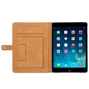 【iPad Air】ZENUS Prestige Retro Vintage Diary (プレステージ レトロビンテージダイアリー)スタンド機能付 本革 ハイブリッド(vintage brown) h03