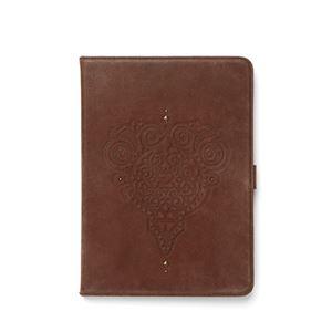 【iPad Air】ZENUS Prestige Retro Vintage Diary (プレステージ レトロビンテージダイアリー)スタンド機能付 本革 ハイブリッド(dark brown)