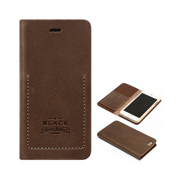 iPhone6s/6 ケース ZENUS Black Tesoro Diary(ゼヌス ブラックテソロダイアリー)アイフォン(brown)f00