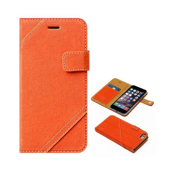iPhone6s/6 ケース ZENUS Cambridge Diary(ゼヌス ケンブリッジダイアリー)アイフォン(orange)f00