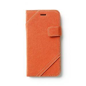 iPhone6s/6 ケース ZENUS Cambridge Diary(ゼヌス ケンブリッジダイアリー)アイフォン(orange) h02