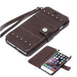iPhone6s Plus/6 Plus ケース ZENUS Bohemian M Diary(ゼヌス ボヘミアンMダイアリー)アイフォン(brown)